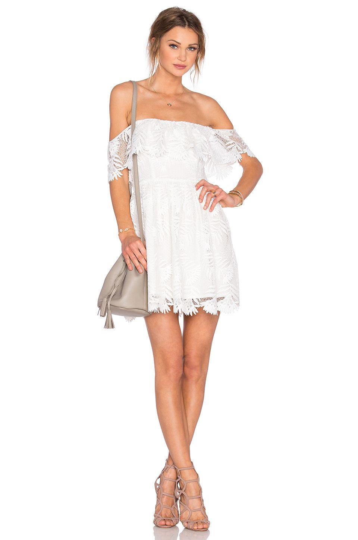 MINKPINK Womens Athena Broderie Anglais Cover Up Dress