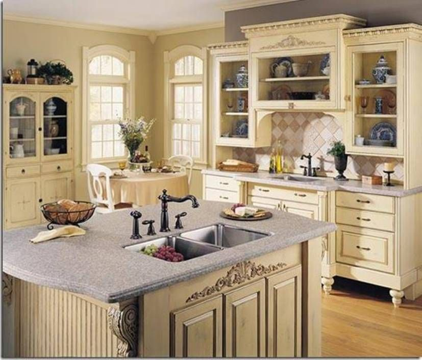Kitchen Cabinets Vintage Style: Victorian And Vintage Style Kitchens