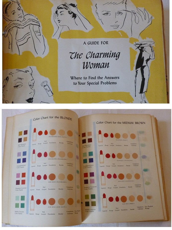The Charming Woman Beauty Book1950's Charm School Course