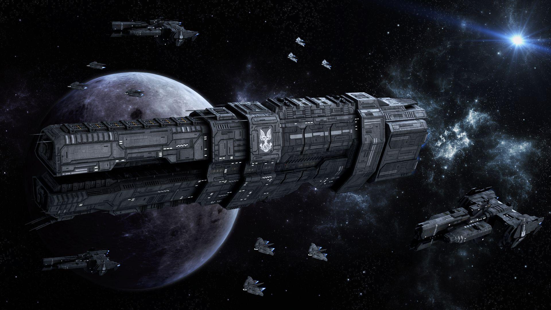 Orion Battle Spaceship
