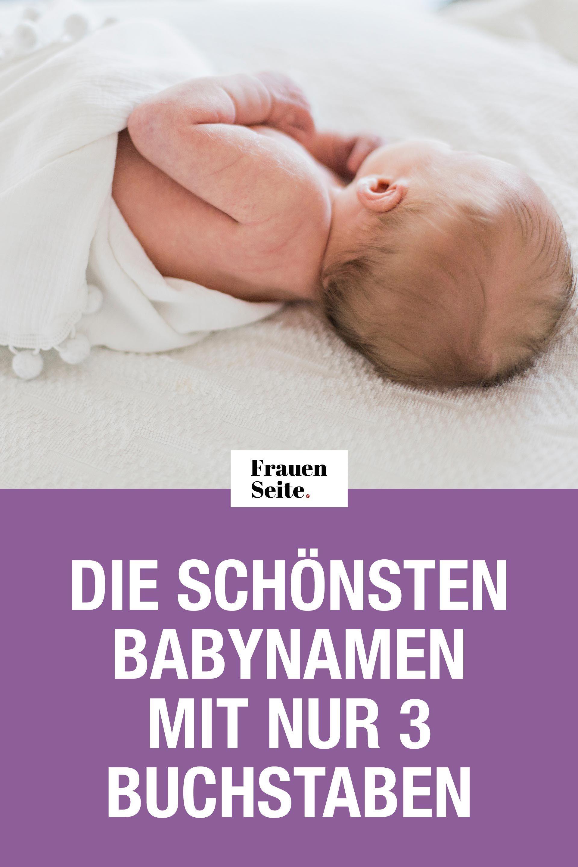 Die Schonsten Babynamen Mit Nur 3 Buchstaben Vornamen Fur Jungen