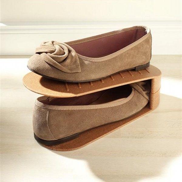 rangement chaussures gain de place sur thisga gain de place pinterest rangement. Black Bedroom Furniture Sets. Home Design Ideas