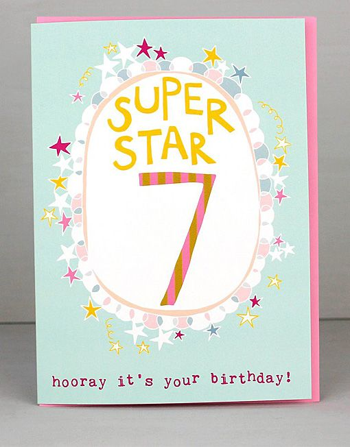 New 7th birthday cards for girls by molly mae i love this new range new 7th birthday cards for girls by molly mae i love this new range m4hsunfo