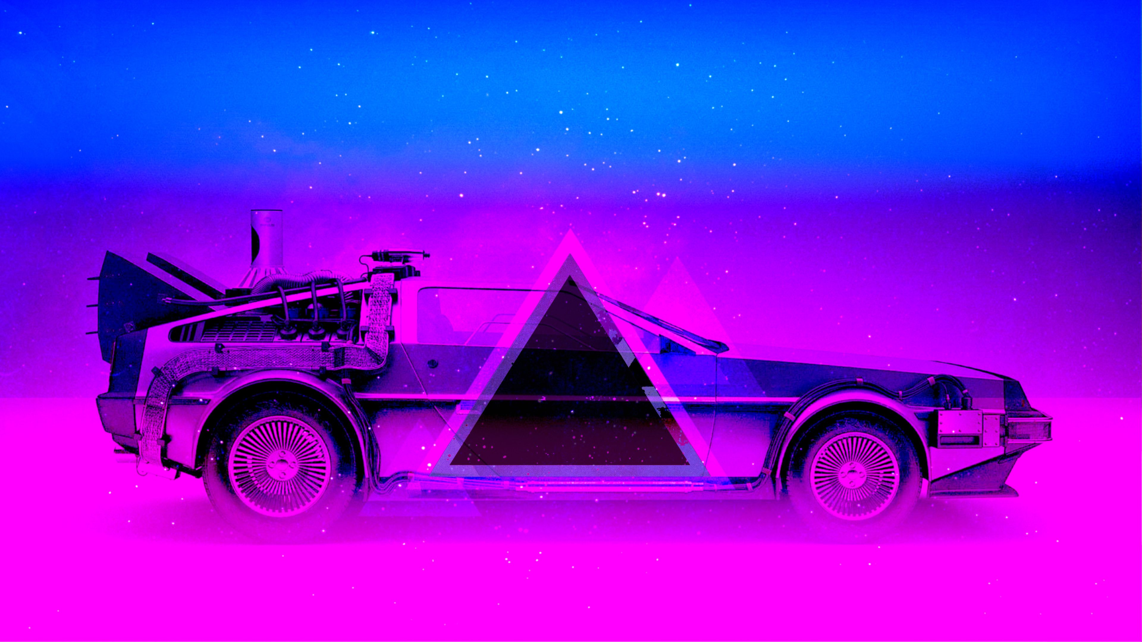 Res 3840x2160 Oshtq Hdtv 80s Car Wallpaper Dmc 12 Synthe