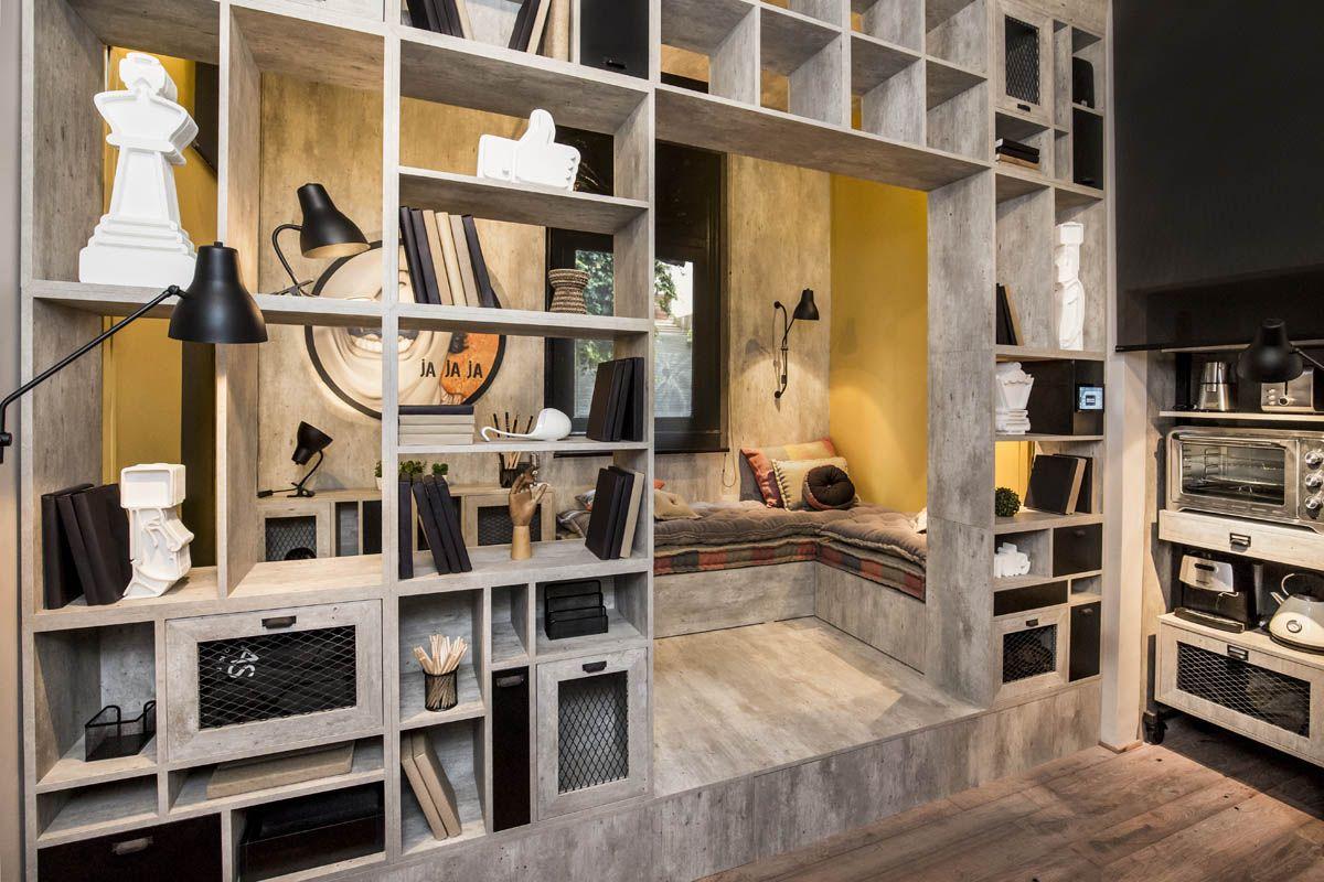 Monoambiente De Un Youtuber Espacio 5 Casa Foa 2016 Sergio  # Muebles Casa Foa