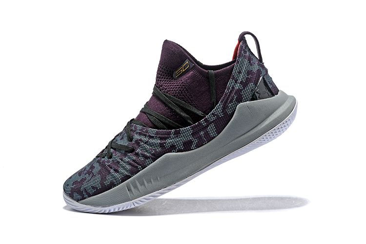 new arrival 4d677 df285 Cheap Under Armour UA Curry 5 Burgundy/Cool Grey in 2019 ...