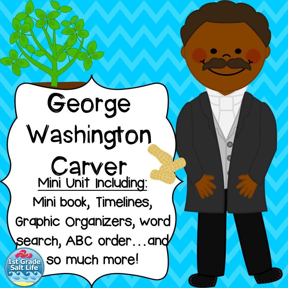 worksheet George Washington Carver Worksheets george washington carver mini unit social studies anchor charts all about carver