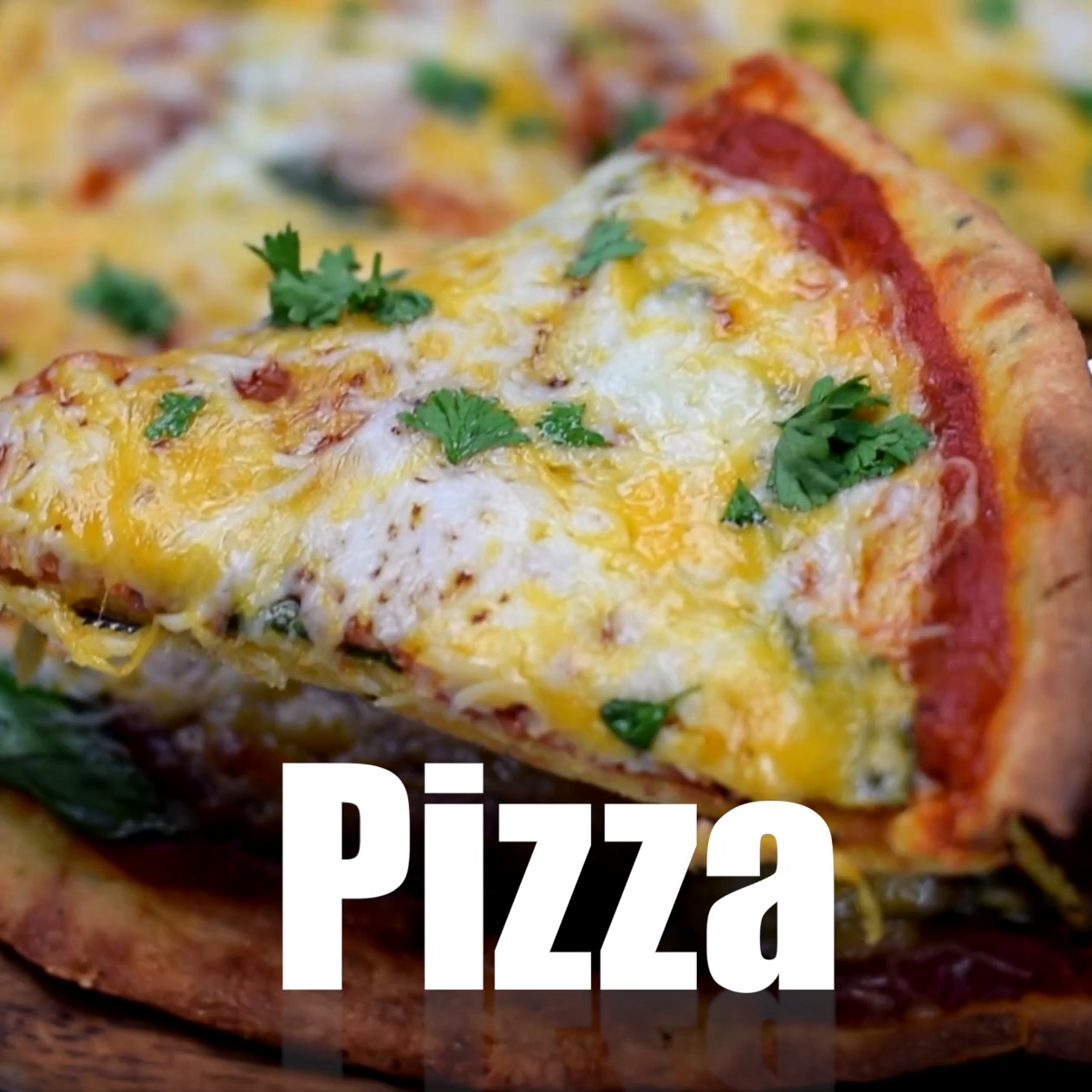 Keto Low-Carb Fathead Three Cheese Pepperoni Pizza images