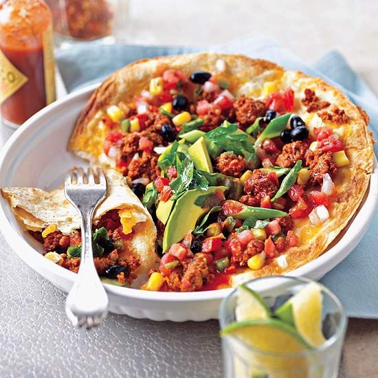 Give these Chorizo-Topped Mexican Pizzas a try this weekend! Recipe: http://www.bhg.com/recipe/pork/chorizo-topped-mexican-pizzas/?socsrc=bhgpin050212ChorizoToppedMexicanPizzas