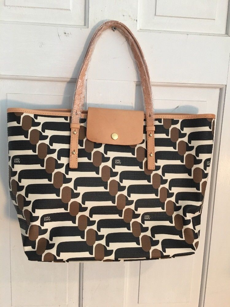9428a54026 Nwt Orla Kiely Most Wanted Best In Show Dog Dachshund Bag Tilly  OrlaKiely   TotesShoppers