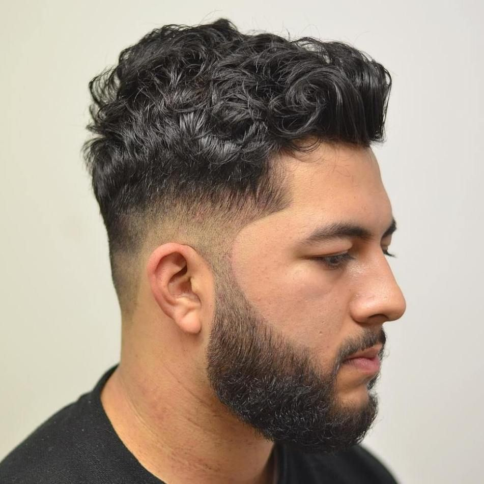 20 Best Drop Fade Haircut Ideas For Men In 2020 Curly Hair Men