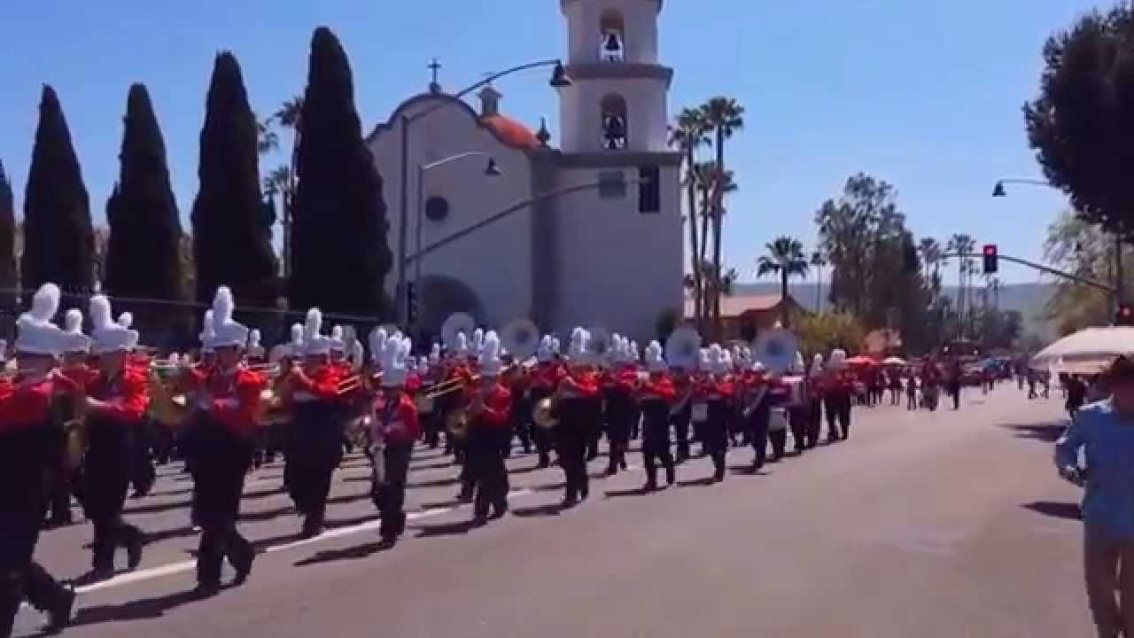 Redwood Middle School Band at San Juan Capistrano 2015