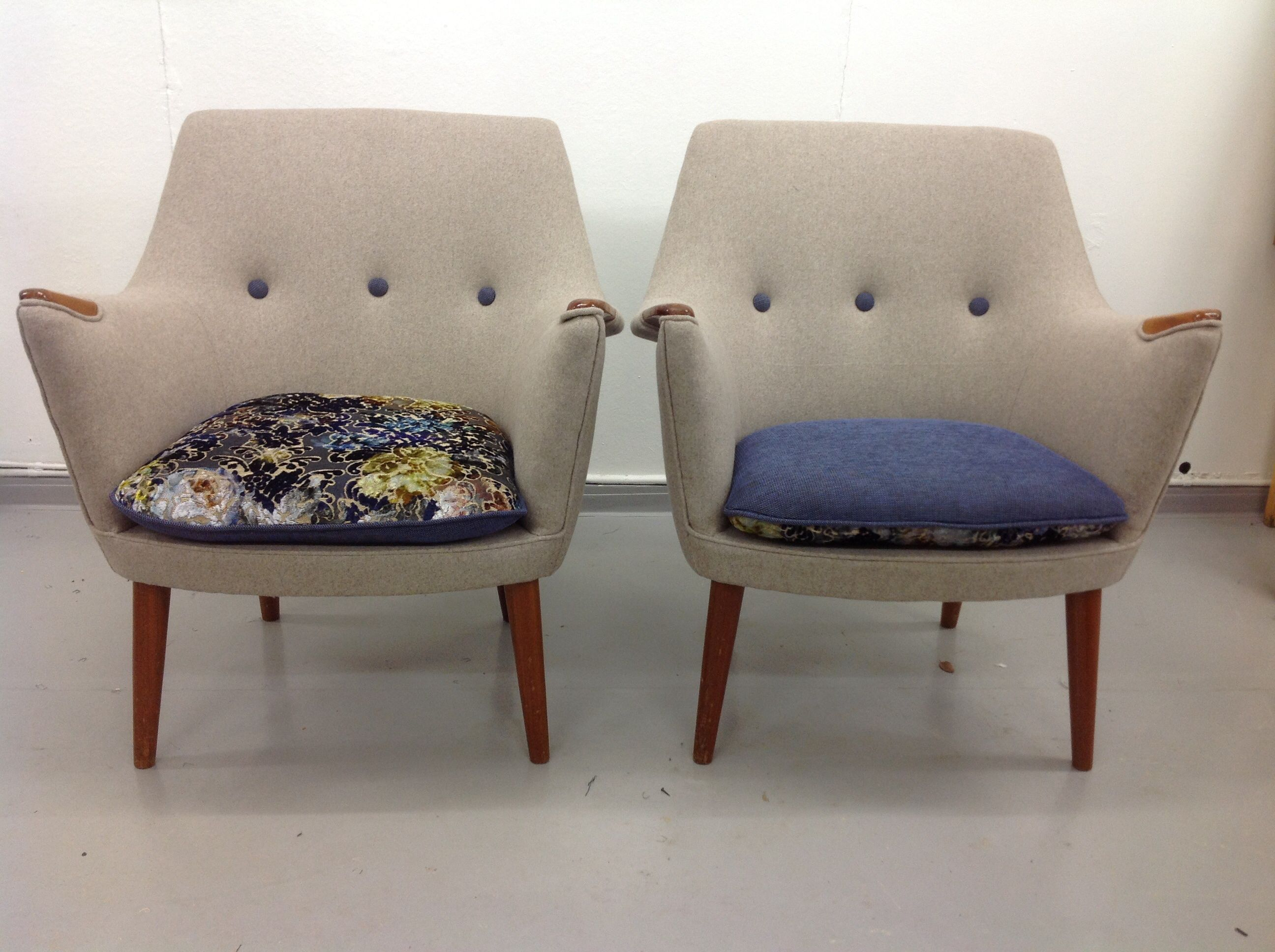 Reupholstery Of Chairs From The 60u0027s