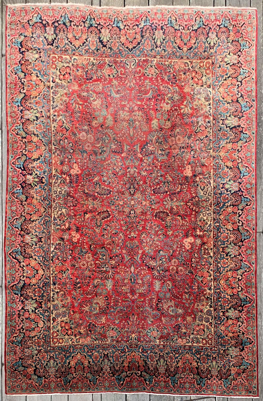Antique Persian Sarouk Rug 10 1 X 15