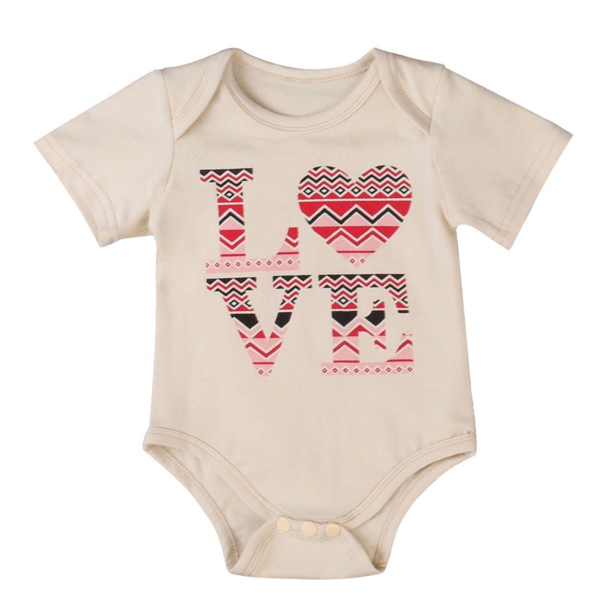 3975f53c1ab8 Cotton Baby Boy Girl Romper Jumpsuit Sunsuit One-piece Clothes US Stock  Kids Infant Children