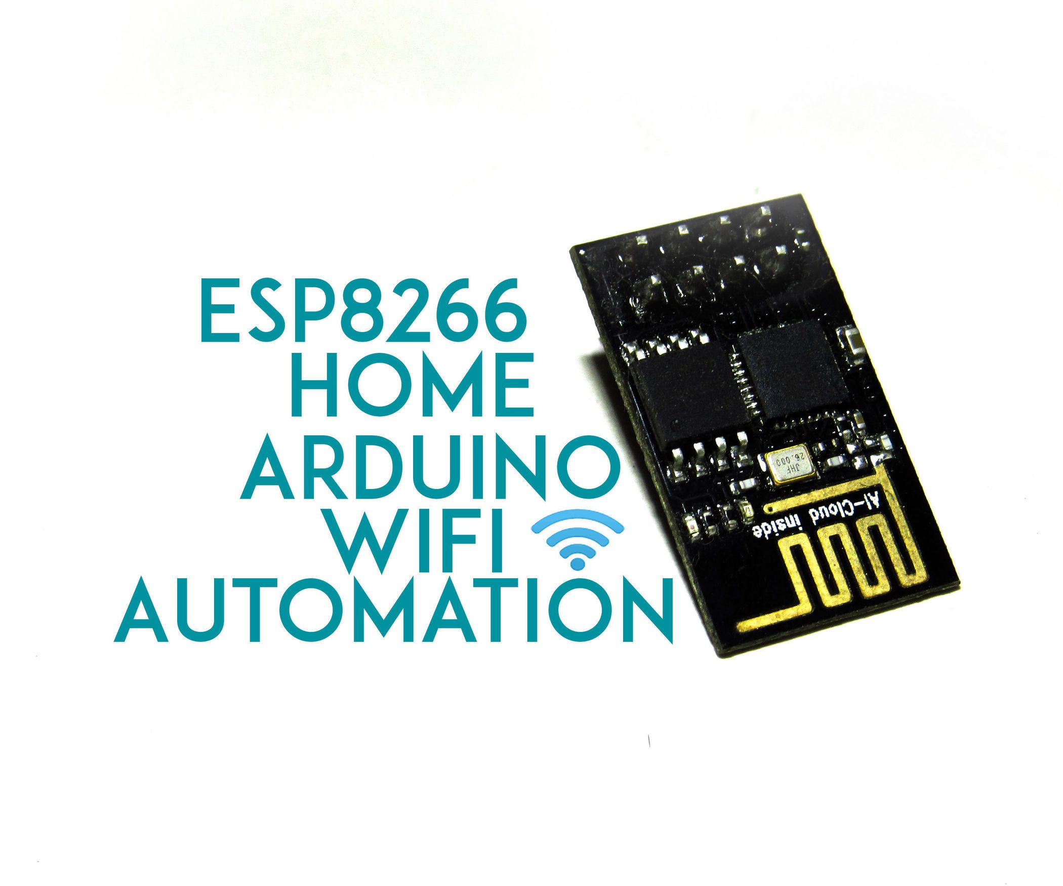 ESP 8266 Wifi Controlled Home Automation | Wifi, Arduino and ...
