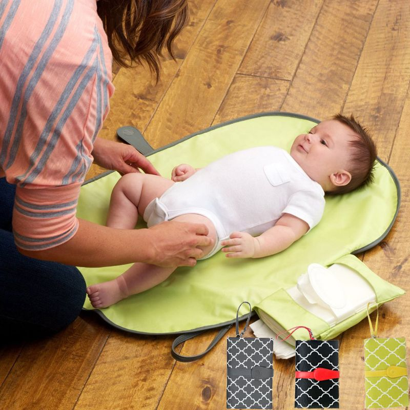 Nappy Changing Mat Pad Waterproof Diaper Baby Changing for Home Travel Protable