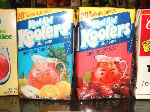 Kool Aid Koolers Makes It Cooler 80s Koolaid Tropical Punch Kool Aid Juice Drinks