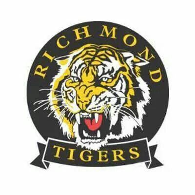 old richmond logo richmond football club pinterest. Black Bedroom Furniture Sets. Home Design Ideas