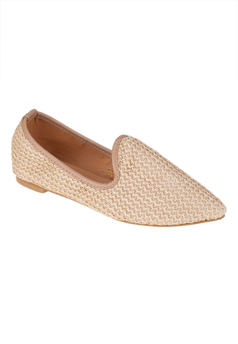 Milly Shoes Weaved Loafer 590 THB