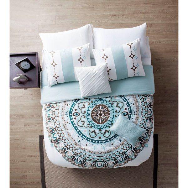 The Gemma Moroccan Mandala 5 Pc Bedding Set Comforter