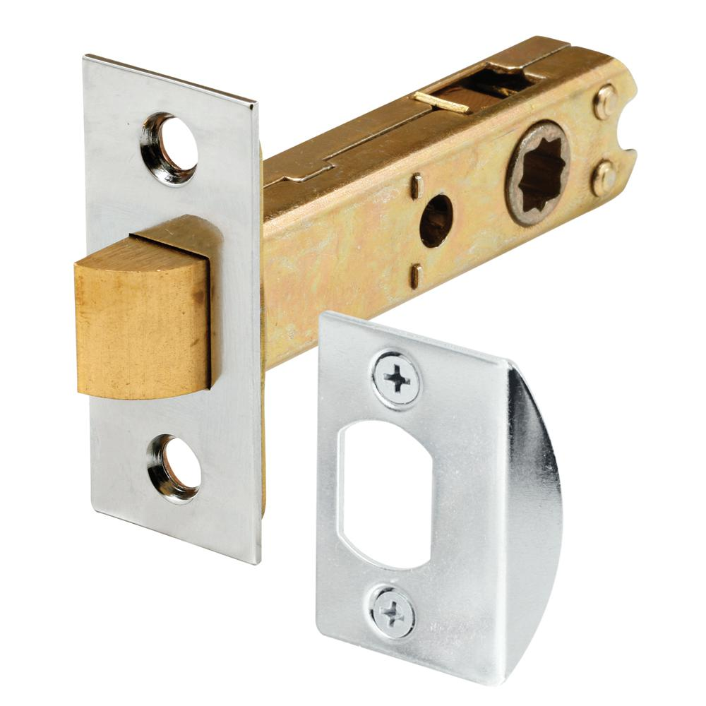 Prime Line Passage Door Latch 9 32 In And 5 16 In Square Drive Steel Chrome Finish E 2440 The Home Depot Chrome Plating Door Latch Vintage Door Hardware