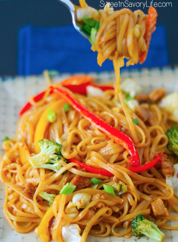 vegan and gluten free pad thai