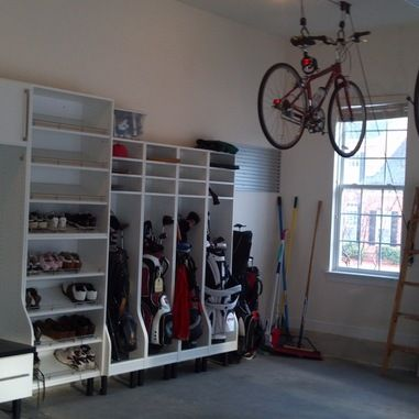 Storing Golf Clubs In Garage 1 514 Club Rack Home Design Photos