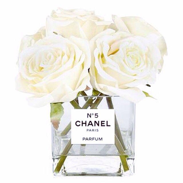 225 & Chanel Vase Perfume bottle vase www.luxelots.com | Home ...