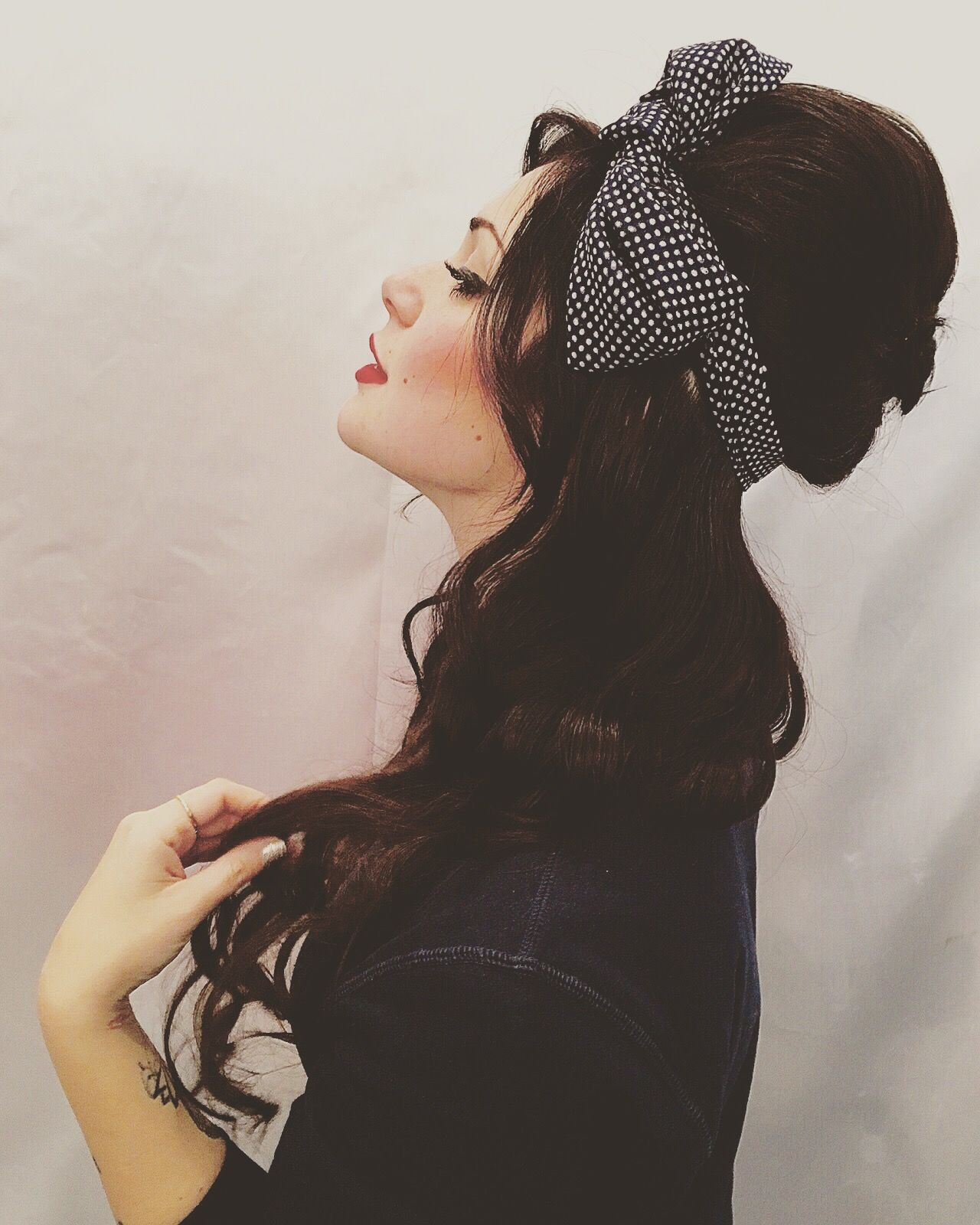 #hair #hairstyle #wavy #extension #amywinehouse