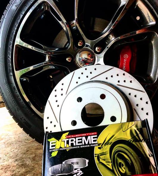 Extreme Street Performance Ceramic Brake Pads Performance Brakes Power Stop