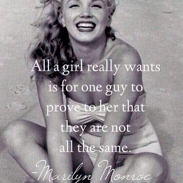 Marilyn Monroe New Years Quotes: Marilyn Monroe All A Girl Wants