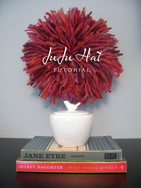 I can't wait to make this. I wanted to get about five JuJu hats for the new house but didn't want to pay $500 a piece for one. Now I can try making my own!