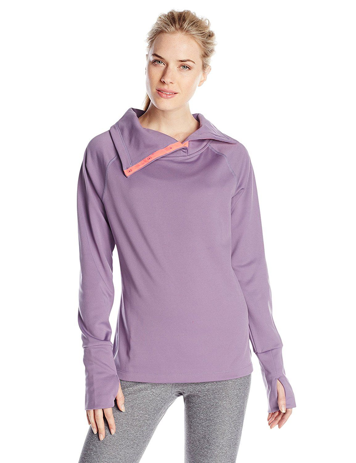 c2a001bad483 Champion Women s Performance Fleece High Collar Pullover   This is an  Amazon Affiliate link. Visit the image link more details.