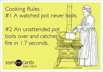 Cooking Rules