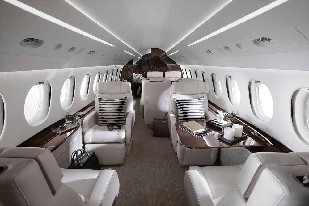 Aircraft Spotlight Dassault Falcon 8X — Asian Sky Media