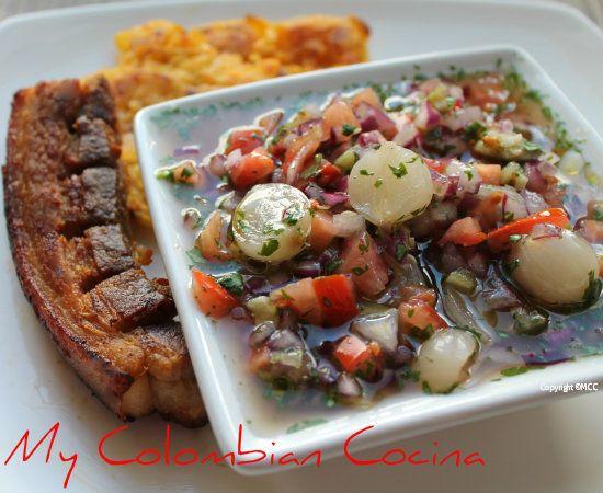 Aj sabanero savanna 39 s chilli sauce colombia cocina - Cocina navidena espanola ...