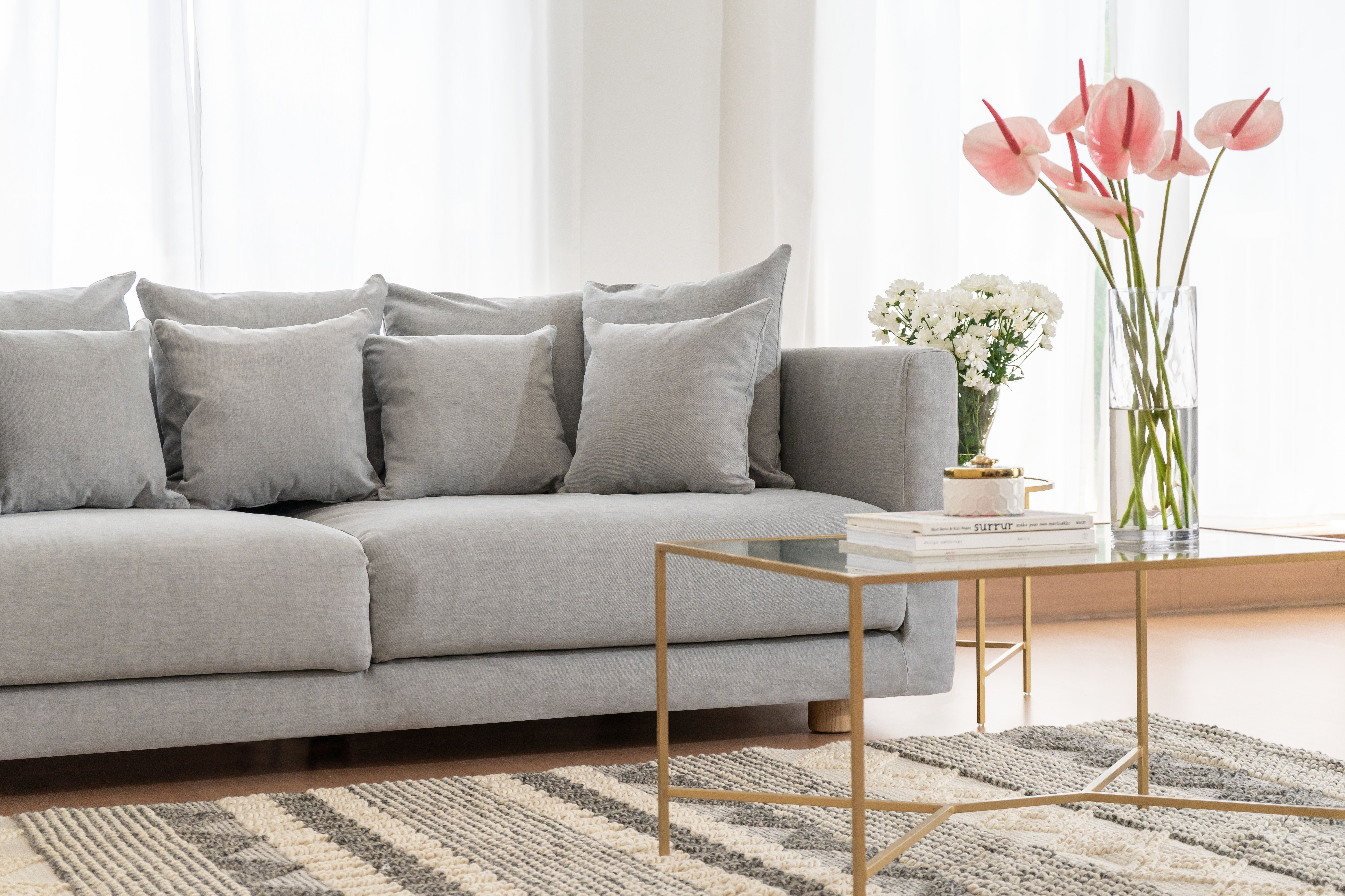 Custom Slipcovers For Ikea Stockholm 2017 Sofa In Our Madison Cotton Fabric Our New Durable Washable Cottons Are Custom Sofa Sofa Handmade Custom Slipcovers