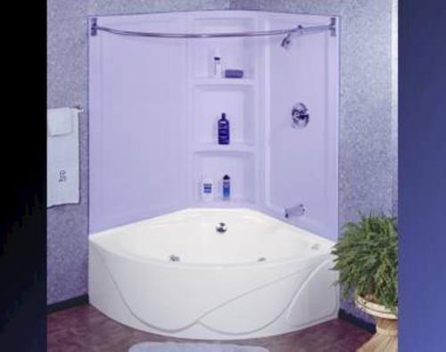 Lyons Sea Wave Iv Whirlpool Corner Bathtub Bathroom Tub Shower