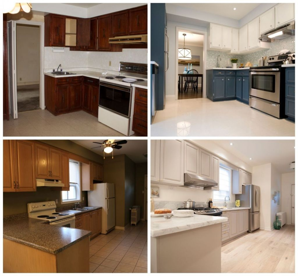 Condo Kitchen Remodel Painting how to paint kitchen cabinets | form renovation and real estate
