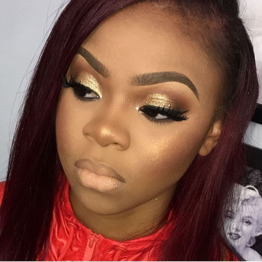 50 Simple Wedding Makeup Ideas for Black Women Makeup