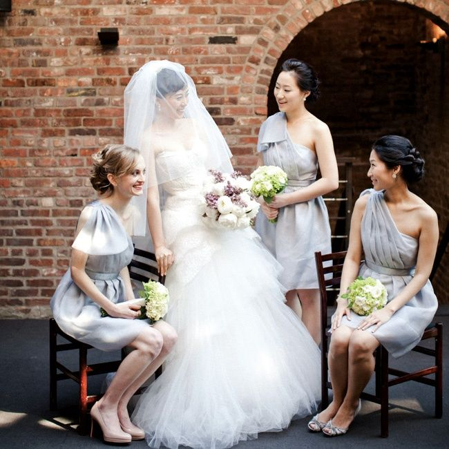 One Shoulder Bridesmaid Dresses Photo Cly Creation Http