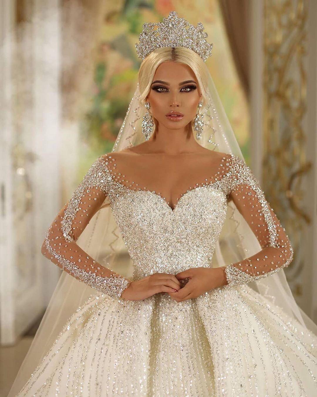 Cincaidotcom Bridal Shop On Instagram I Like I Share I Sell Usd1 250 Follow In 2021 Princess Wedding Dresses Fancy Wedding Dresses Sparkly Wedding Dress [ 1350 x 1080 Pixel ]