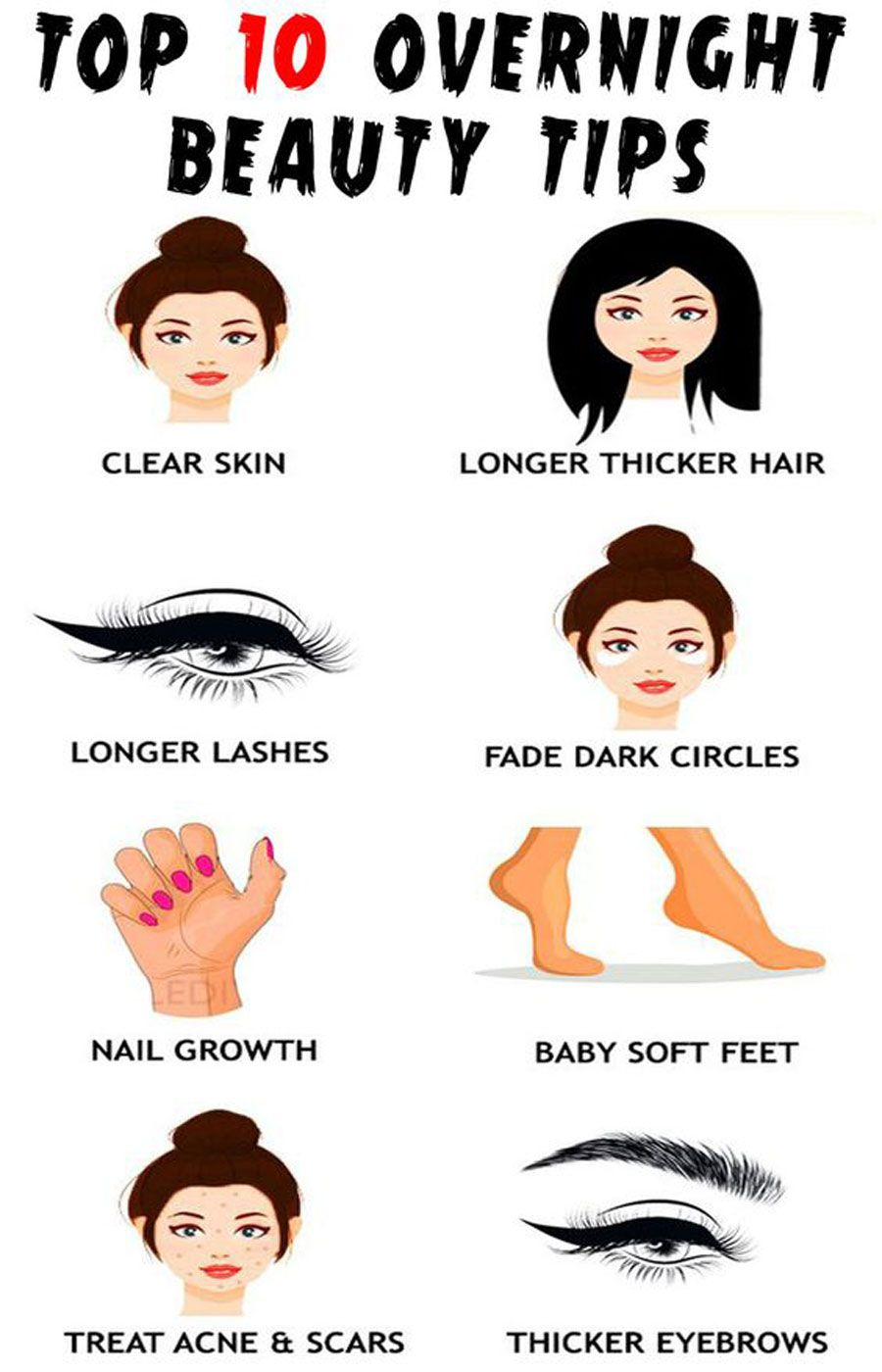 All Natural Beauty Tips For Any Skin Type  Beauty hacks, Natural