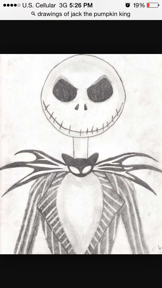 This Is Jack I Decided To Draw Him Cuz He Is Cool Arte De Halloween Dibujos De Halloween Arte De Tim Burton