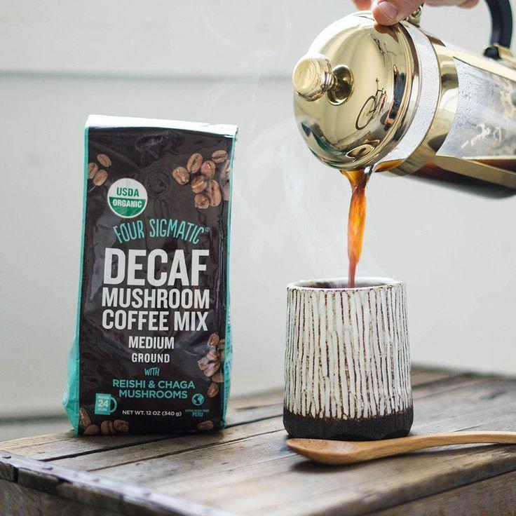 Four sigmatic new decaf ground mushroom coffee
