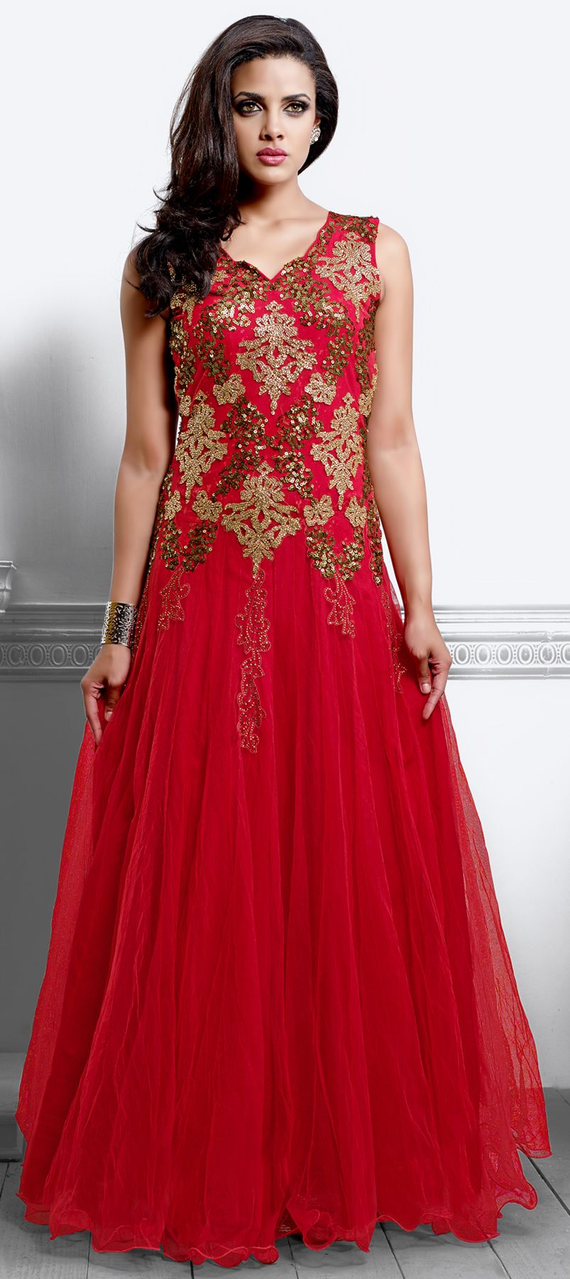 423692 red and maroon color family stitched gown camize dress 423692 red and maroon color family stitched gown ombrellifo Image collections