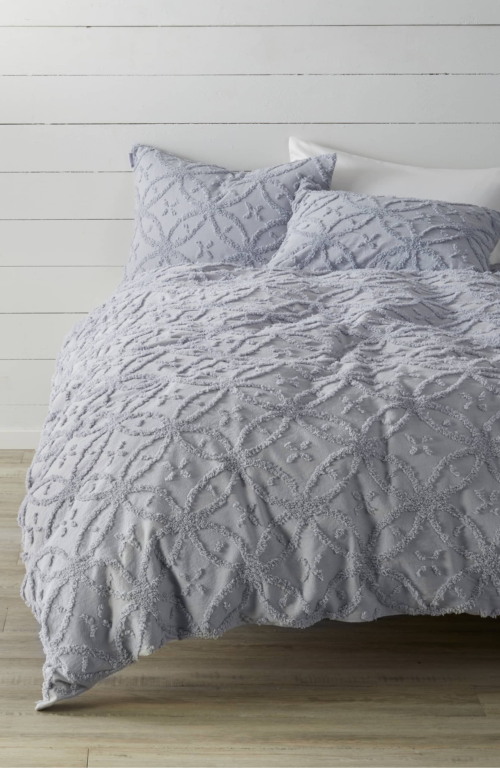 Minella Duvet Cover Main Color Periwinkle Blue Bed Linens