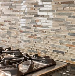 Gl And Stone Mosaic Tile