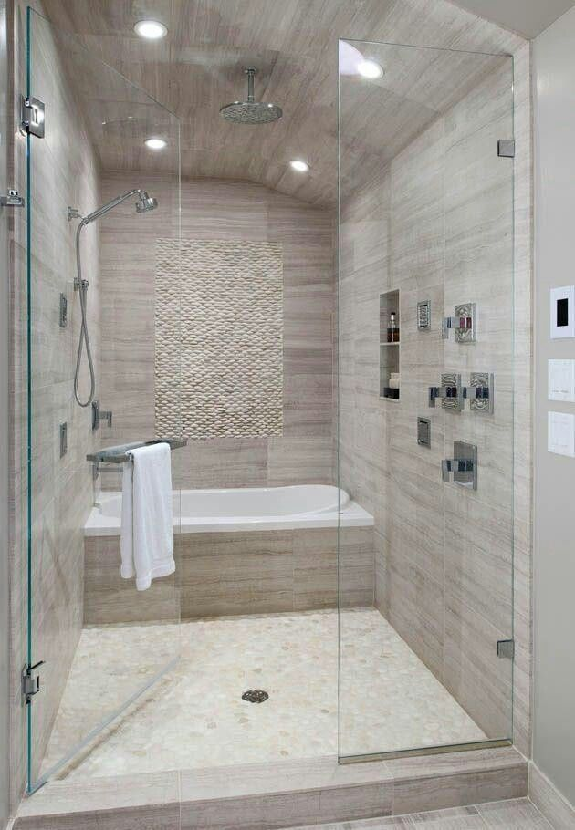 bathroom remodels tub in front of shower - Yahoo Image Search